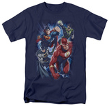 Justice League - Storm Chasers Shirts