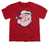Youth: Popeye - Popeye Head T-shirts