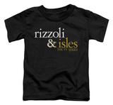 Toddler: Rizzoli & Isles - Logo T-Shirt