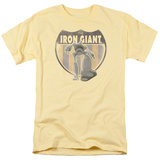 The Iron Giant - Iron Giant Patch T-Shirts
