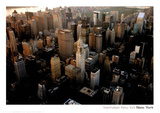 Manhattan New York City Art Print Poster Print