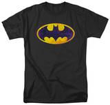 Batman - BM Neon Distress logo T-shirts