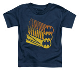 Toddler: Batman - Bat Signal Shapes T-shirts
