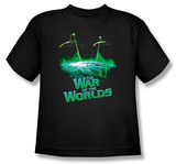 Toddler: The War of The Worlds - Global Attack T-shirts