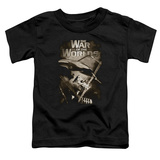 Toddler: The War of The Worlds - Death Rays T-shirts