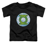 Toddler: Green Lantern - GL Neon Distress Logo Shirts