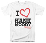 Californication - I Heart Hank Moody T-shirts