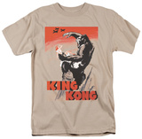 King Kong - Red Skies of Doom T-shirts
