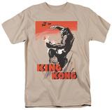 King Kong - Red Skies of Doom T-shirts