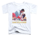 Toddler: Gone with the Wind - On Fire T-shirts