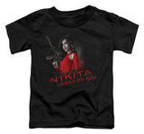 Toddler: Nikita - Looks Do Kill T-shirts