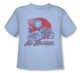 Toddler: Betty Boop - All American Biker Shirts