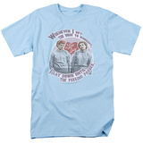 I Love Lucy - Lucy's Workout T-shirts