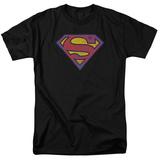 Superman - SM Neon Distress Logo T-shirts