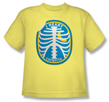 Youth: Chicquita Banana - Rib Cage Sticker T-shirts