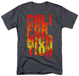 Californication - Cali Type T-shirts