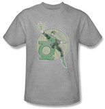 Green Lantern - Retro Lantern Iron On T-shirts