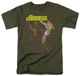 Green Lantern - Lantern Spray T-shirts