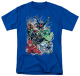 DC Comics New 52 - Justice League 1 T-shirts
