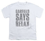Youth: Garfield - Relax T-shirts