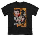 Youth: Betty Boop - Boyfriend the Beast T-shirts