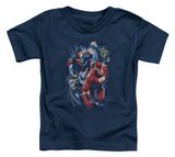 Toddler: Justice League - Storm Chasers T-shirts