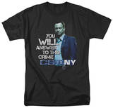 CSI New York - You Will Answer T-shirts