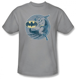 Batman &amp; Robin - Retro Batman Iron On Shirt