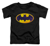 Toddler: Batman - BM Neon Distress logo T-shirts