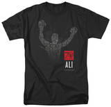 Muhammad Ali - 70 Arms Raised T-shirts