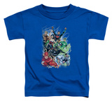 Toddler: DC Comics New 52 - Justice League 1 T-Shirt