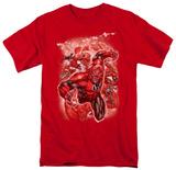 DC Comics New 52 - Red Lanterns 1 T-shirts