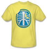 Chicquita Banana - Rib Cage Sticker T-Shirt