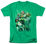 Green Lantern - Power of the Rings Shirts