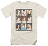 Melrose Place - Season 2 Cast Squared Shirts