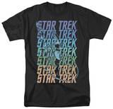 Star Trek - Multi Logo Enterprise T-shirts