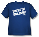 Toddler: Old School - My Boy Blue T-shirts