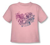 Toddler: Popeye - Olive Oyl Tattoo T-shirts