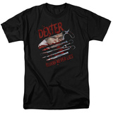 Dexter - Blood Never Lies T-shirts