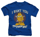 Youth: Garfield - I Want You T-Shirt
