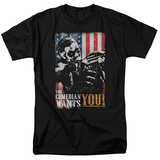Watchmen - The Comedian Wants You T-shirts