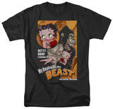Betty Boop - Boyfriend the Beast T-shirts