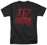 Dexter - I Heart Dexter T-shirts