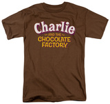 Charlie and the Chocolate Factory - Logo T-shirts