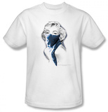 Marilyn Monroe - Blue Bandana T-shirts