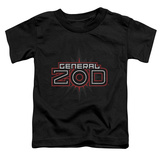Toddler: Superman - Zod Logo T-shirts
