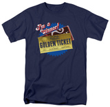 Charlie and the Chocolate Factory - Golden Ticket T-shirts