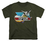 Youth: Top Gun - Distressed T-shirts