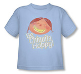 Toddler: Chicquita Banana - Be Happy T-shirts