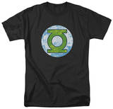Green Lantern - GL Neon Distress Logo T-shirts